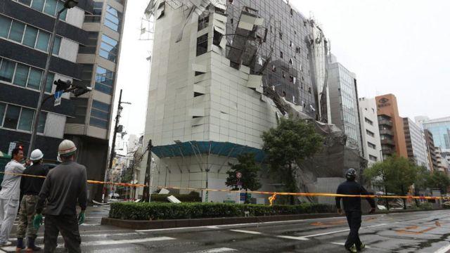 Тайфун в Японії