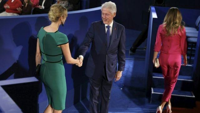 पूर्व अमरीकी राष्ट्रपति बिल क्लिंटन