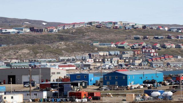 يشكل أفراد شعب الإنويت 80 في المئة من سكان نونافوت