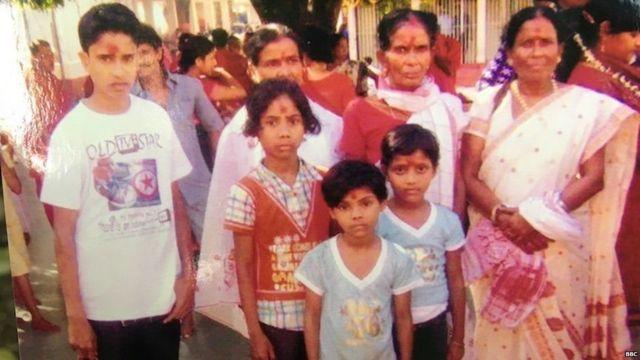 હિમા દાસનો પરિવાર