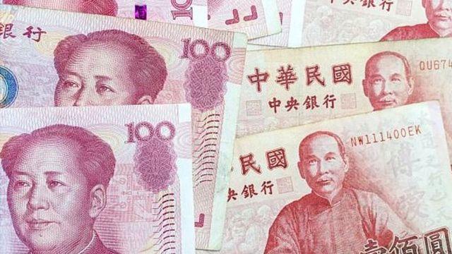 Tiền Trung Quốc và Tiền Đài Loan