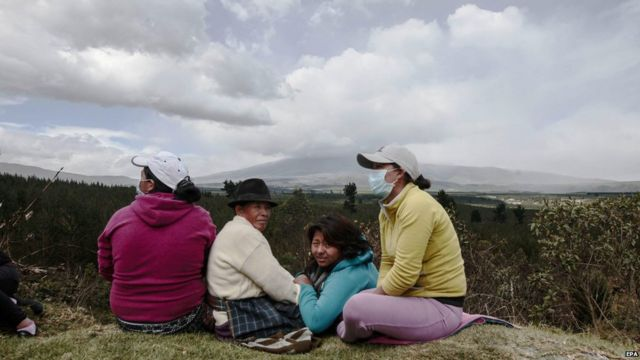 Ecuador declares state of emergency over volcano