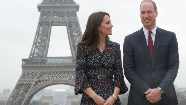 William and Kate meet French attack survivors