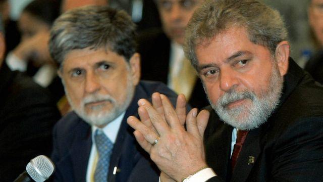 Celso Amorim e Lula