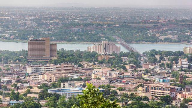 La ville de Bamako, Mali