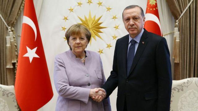 Merkel ve Erdoğan