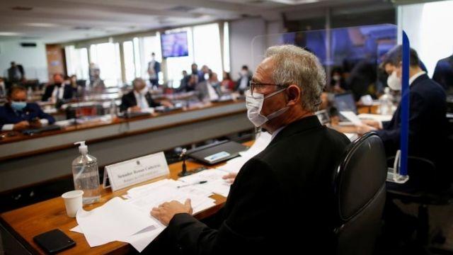 Sessão da CPI nesta terça, com a votação de relatório final