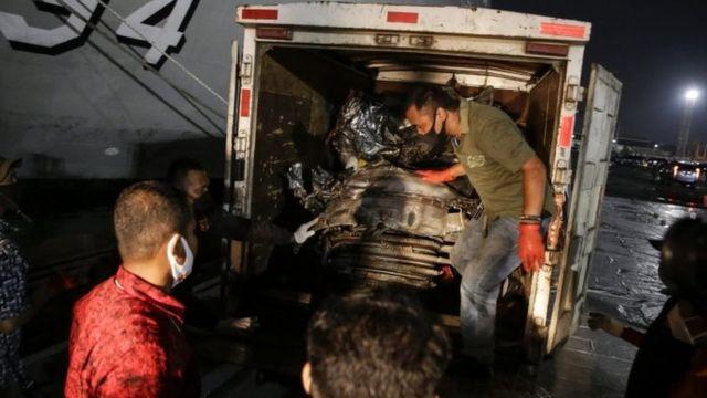 Potongan pesawat Sriwijaya Air yang ditemukan pada 21 Januari lalu.