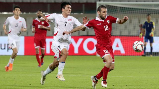 Lebanon thắng Bắc Hàn 4-1 nhưng Việt Nam đi tiếp khi hơn Lebanon bằng chỉ số phụ