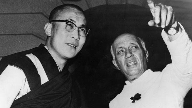 दलाई लामा और नेहरू