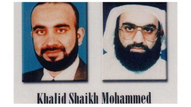 ملصق باسم المطلوب خالد شيخ محمد، نشره الرئيس بوش عام 2001