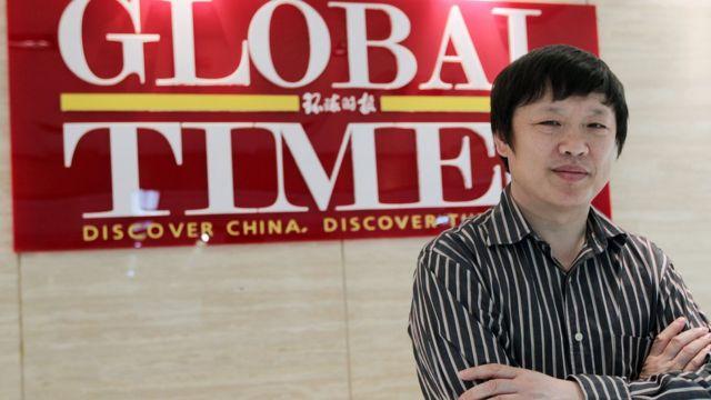 Главред газеты Global Times Ху Сицзинь