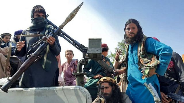 "Бойцы ""Талибана"" в провинции Лагман"