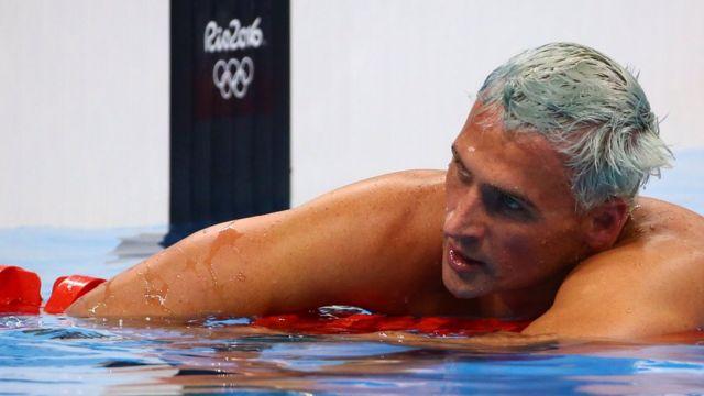 Ryan Lochte, nadador americano