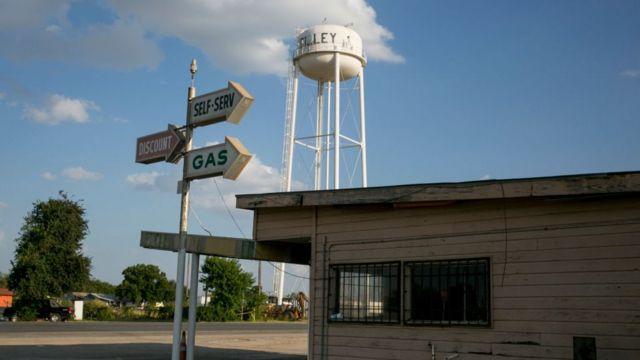 Dilley está ubicado en el sur de Texas, a menos de dos horas de la frontera con México.