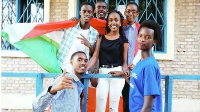 Les six membres de l'équipe de robotique du Burundi qui sont disparus à Washington