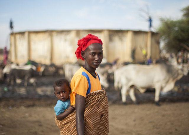 Kumba et Binta au Sénégal.