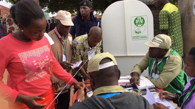 INEC dey expect over six hundred thousand voters to participate