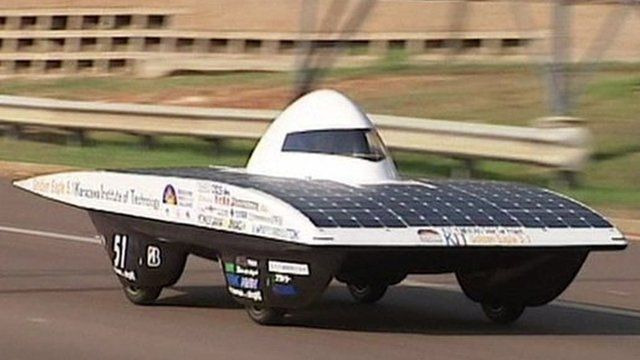 Darwin to Adelaide in a solar-powered car