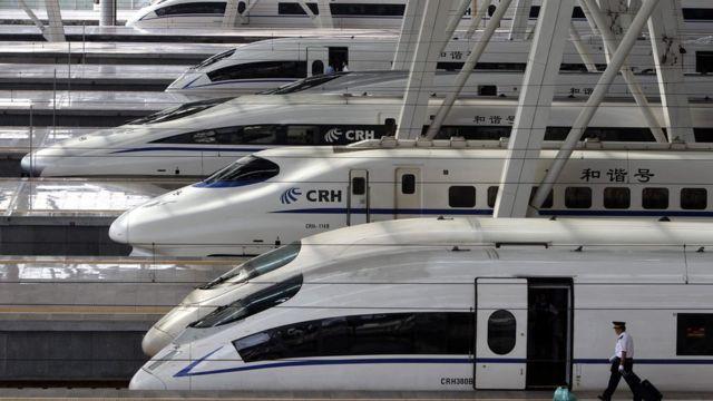中國在一帶一路許多沿線國家投資興建鐵路,但遇上許多阻滯。