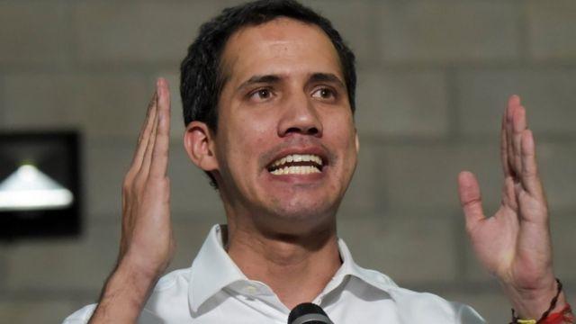 Лидер оппозиции Хуан Гуайдо просит помощи от международного сообщества