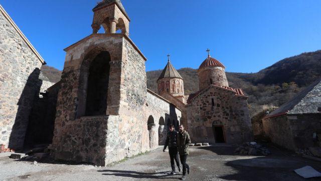Монастырь Дадиванк, Кельбаджарский район Азербайджана