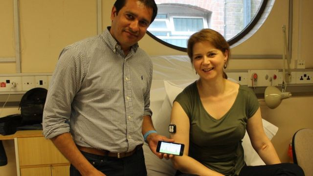 Blood sugar monitor tested on diabetes patients