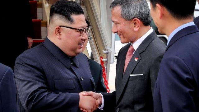 Kim Džong-una dočekao je ministar spoljnih poslova Singapura Vivijan Balakrišnan