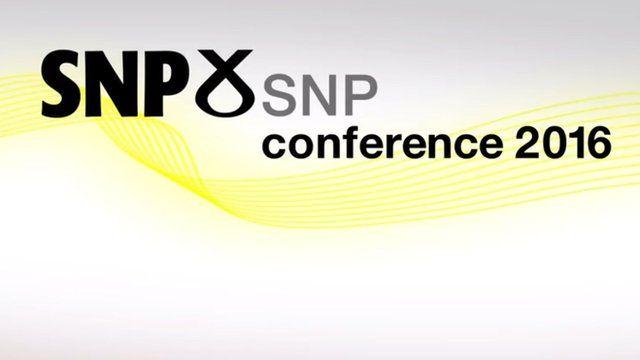 The SNP conference, featuring Nicola Sturgeon's keynote speech
