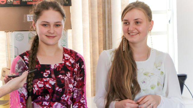 Iulia Ovchinnikov e Felessata Kilin
