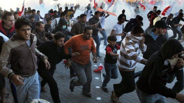 تظاهراتی در بحرین