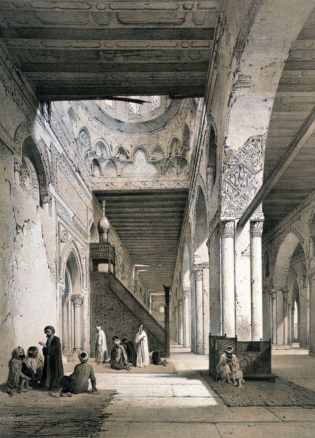 لوحة لمسجد أحمد ابن طولون
