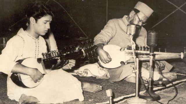 Amjad Ali Khan and Ustad Haafiz Ali Khan