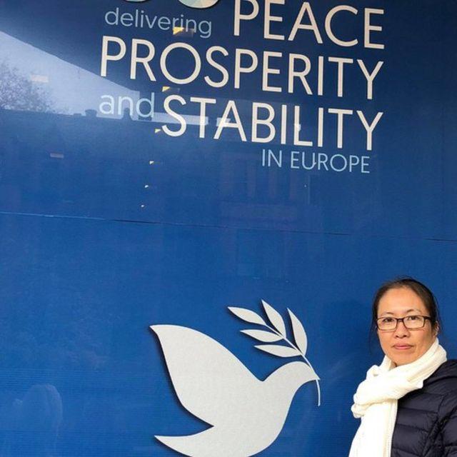 Blogger Mẹ Nấm tại Washington DC