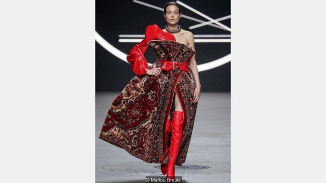 Marlou Breuls, İran halısı