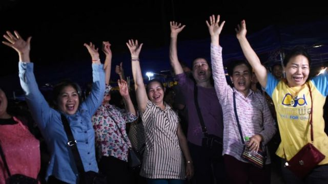 தாய்லாந்து குகை: மீட்புப் பணி வெற்றிகரமாக நிறைவு