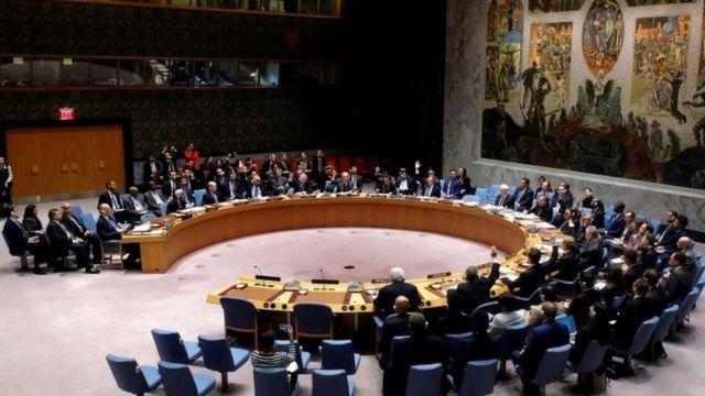 مجلس الأمن استمع لآخر التطورات في سوريا خاصة الأوضاع الإنسانية في حلب جراء القصف وحصار المدنيين في مناطق عدة