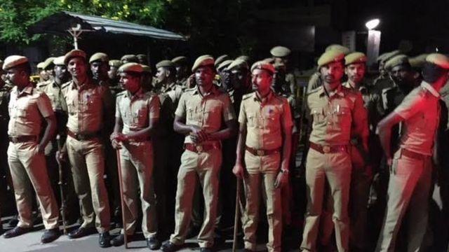 चेन्नई में सुरक्षा कड़ी