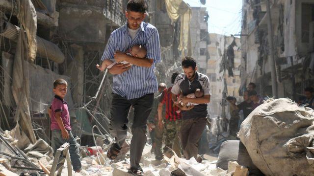 بیش از چهار هزار غیرنظامی از زمان حملات هوایی روسیه در سوریه کشته شدند