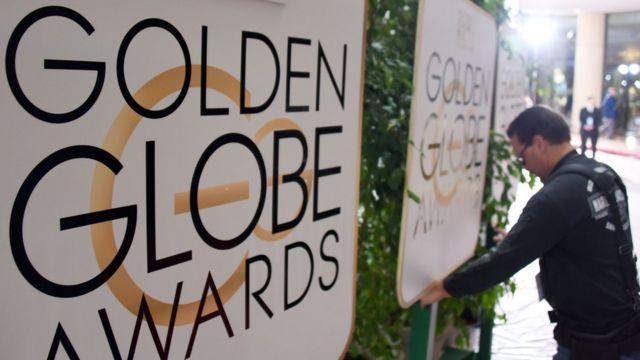 Golden Globes signs