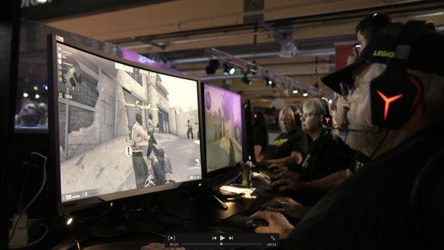 Veteranos jogam CSGO