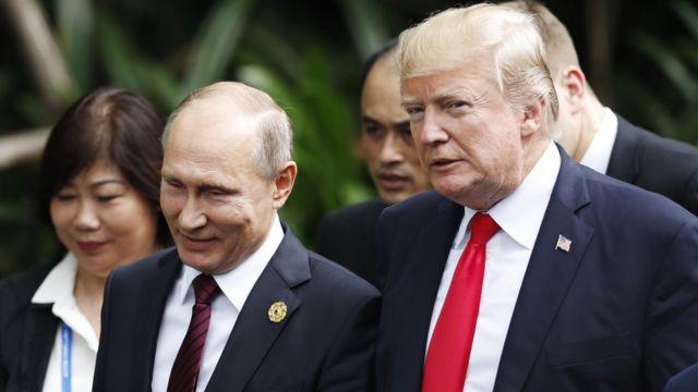 TT Trump và TT Putin tại Tuần lễ cấp cao APEC tổ chức tại Việt Nam từ 06 - 11/11/2017