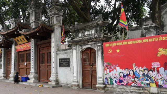 Nhiều chùa chiền phải đóng cửa dịp đầu Xuân do dịch Covid-19