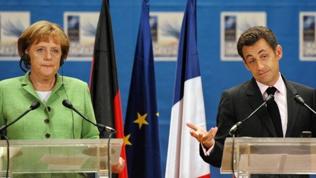 Меркель та Саркозі
