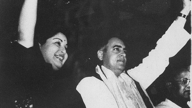 ராஜிவ் காந்தி ஜெயலலிதா