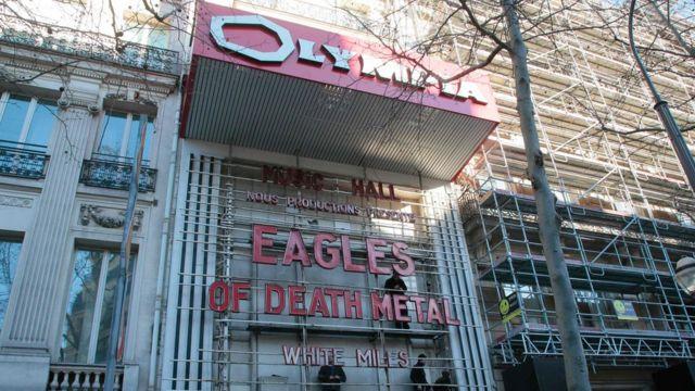 パリのオランピア劇場