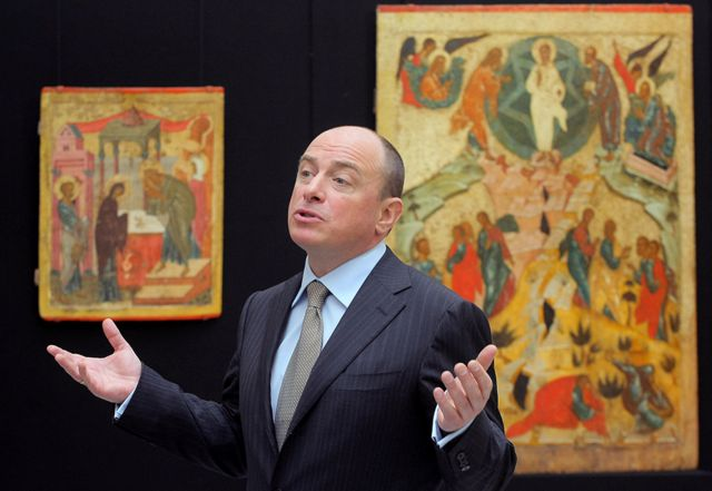 коллекционер и бизнесмен Михаил Абрамов