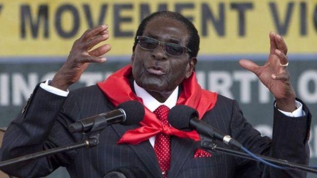 Perezida Mugabe ntakunze gushikira abanyamerika