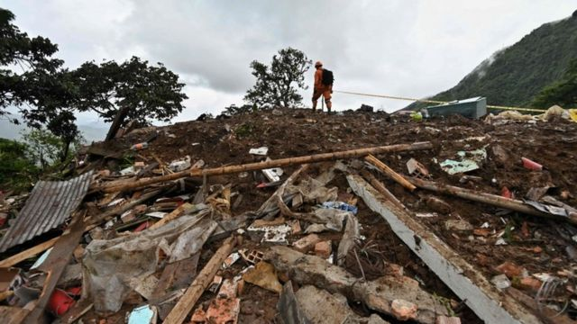 Colombia landslide: At least 17 killed and five injured