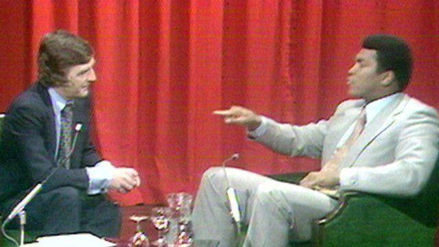 Michael Parkinson and Muhammad Ali